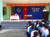 Trường THCS Quang Trung tuyên truyền Phòng Chống TNTT